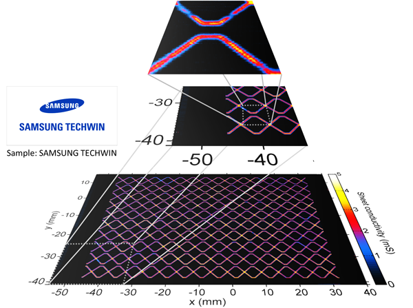 Graphene Display 3D samsung techwin 600
